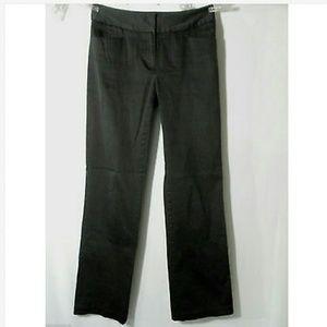 TRIBAL Dress Pants 2 Black pinstripe Straight leg